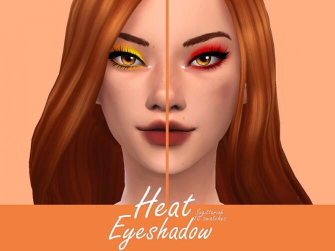Heat Eyeshadow by Sagittariah at TSR image 4414 670x503 Sims 4 Updates