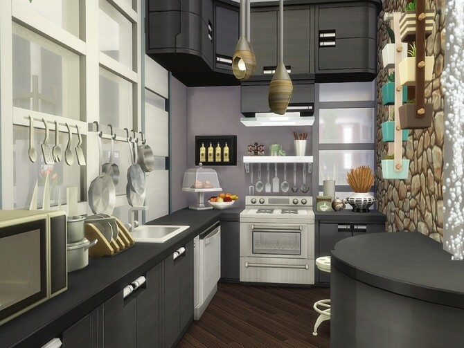Sims 4 Augustina Loft by Ineliz at TSR