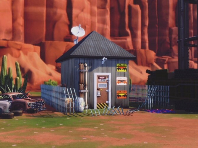 Apocalypse Abandoned Water Station by Summerr Plays at TSR image 443 670x503 Sims 4 Updates