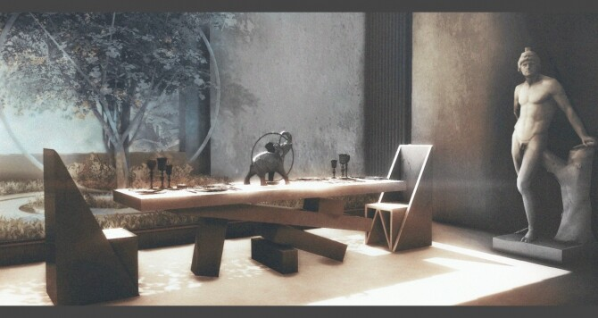 The Brutalist 80 items set (P) at AggressiveKitty image 4618 670x356 Sims 4 Updates