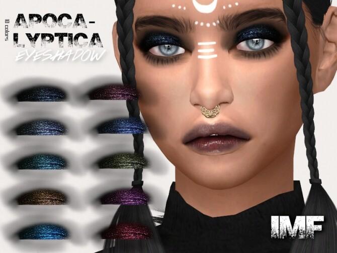 Sims 4 IMF Apocalyptica Eyeshadow by IzzieMcFire at TSR