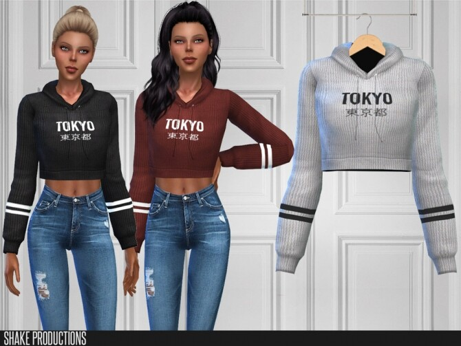 444 Top by ShakeProductions at TSR image 4819 670x503 Sims 4 Updates