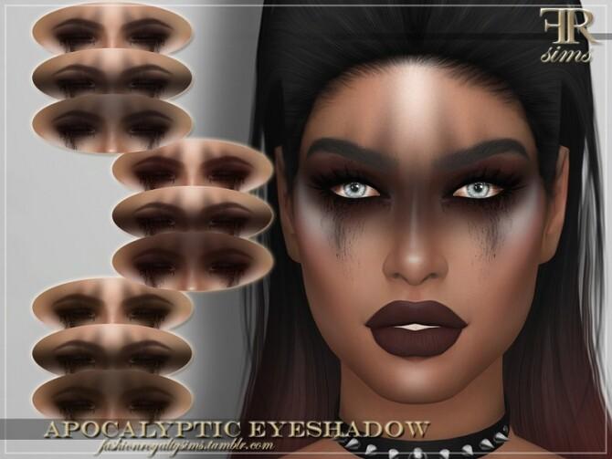 Sims 4 FRS Apocalyptic Eyeshadow by FashionRoyaltySims at TSR