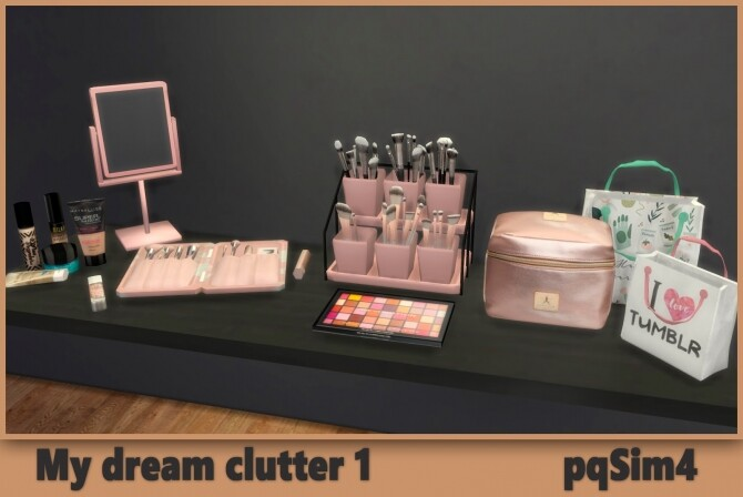 My Dream Clutter 1 at pqSims4 image 490 670x448 Sims 4 Updates