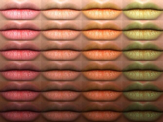 Sleeping Dragon Lipstick 10 HQ by Alf si at TSR image 4917 670x503 Sims 4 Updates