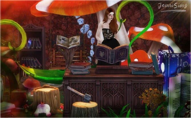 Mystic Fairy Land clutter (15 ITEMS) at Jenni Sims image 4941 670x414 Sims 4 Updates