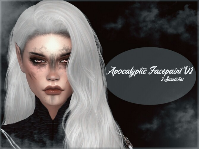 Apocalyptic Facepaint V2 by Reevaly at TSR image 495 670x503 Sims 4 Updates