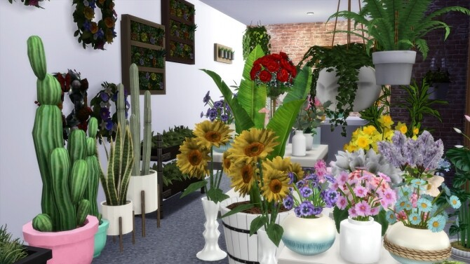 FLORIST SHOP at MODELSIMS4 image 5021 670x377 Sims 4 Updates