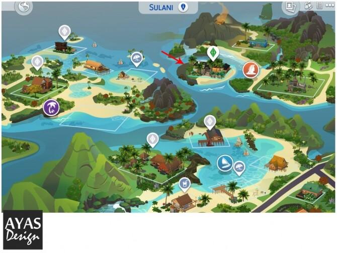 Sims 4 Modern Beach House by ozgeayas at TSR