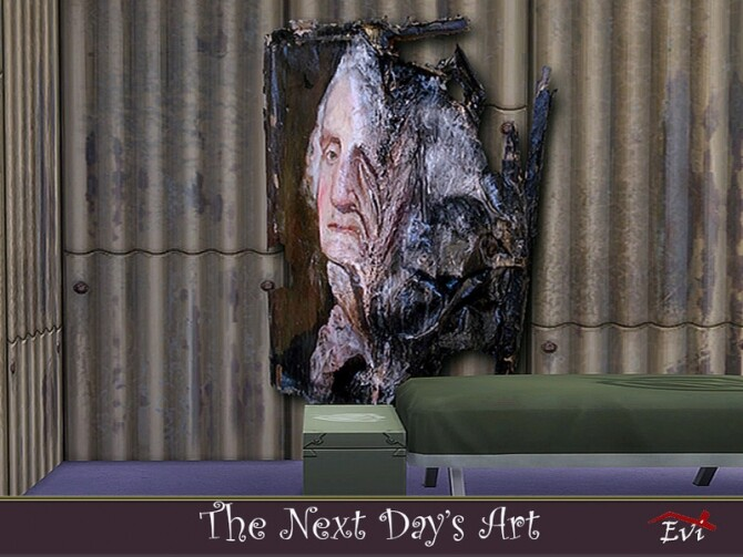 Sims 4 The Next Day Art by evi at TSR