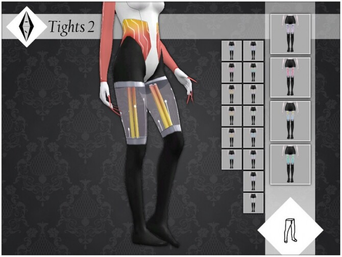 Sims 4 Tights 2 by AleNikSimmer at TSR