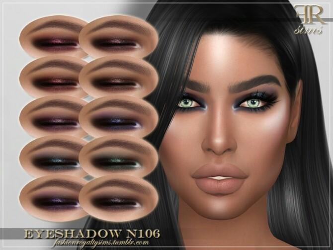 FRS Eyeshadow N106 by FashionRoyaltySims at TSR image 5119 670x503 Sims 4 Updates