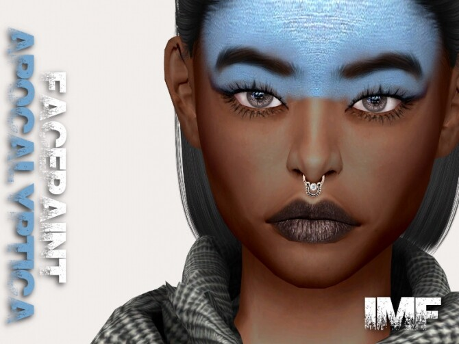 IMF Apocalyptica Facepaint by IzzieMcFire at TSR image 515 670x503 Sims 4 Updates