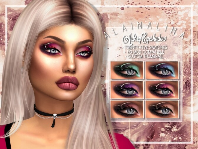 Aubrey Eyeshadow at AlainaLina image 5161 670x503 Sims 4 Updates