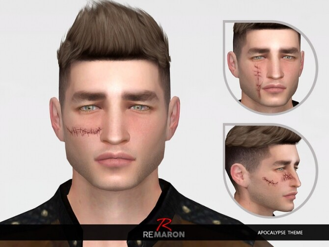 Scars 01 for both genders by remaron at TSR image 536 670x503 Sims 4 Updates