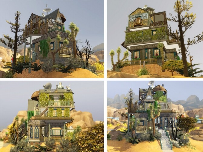 Sims 4 Scavengers House by Ineliz at TSR