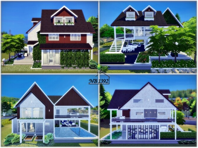 Sims 4 Rosario house by nobody1392 at TSR