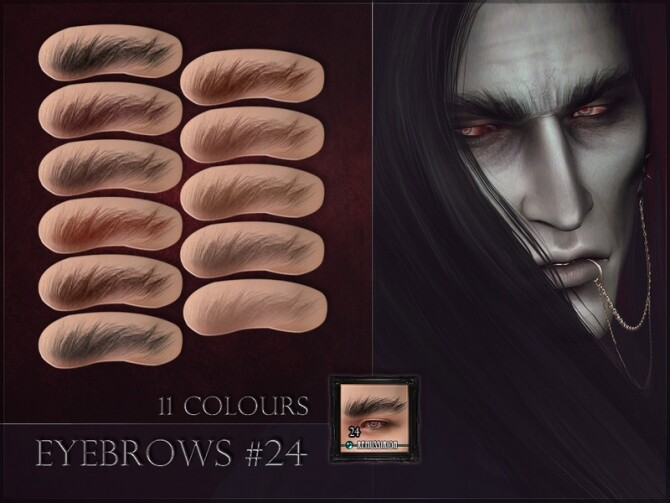 Sims 4 Eyebrows 24 by RemusSirion at TSR