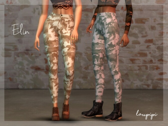 Apocalypse Elin Pants by laupipi at TSR image 575 670x503 Sims 4 Updates