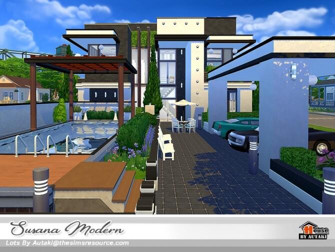 Susana Modern House NoCC by autaki at TSR image 5918 670x503 Sims 4 Updates