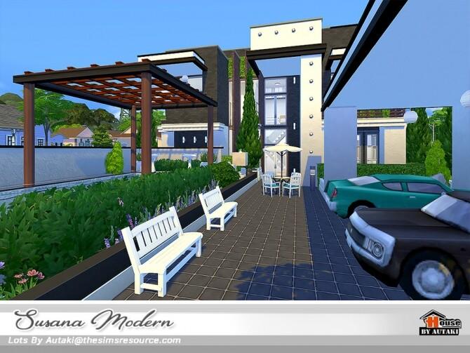 Susana Modern House NoCC by autaki at TSR image 6122 670x503 Sims 4 Updates