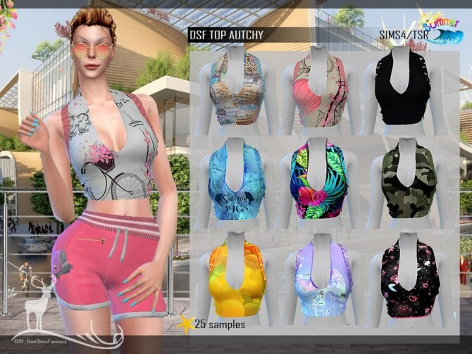 DSF SET AUTCHY by DanSimsFantasy at TSR image 6124 670x503 Sims 4 Updates