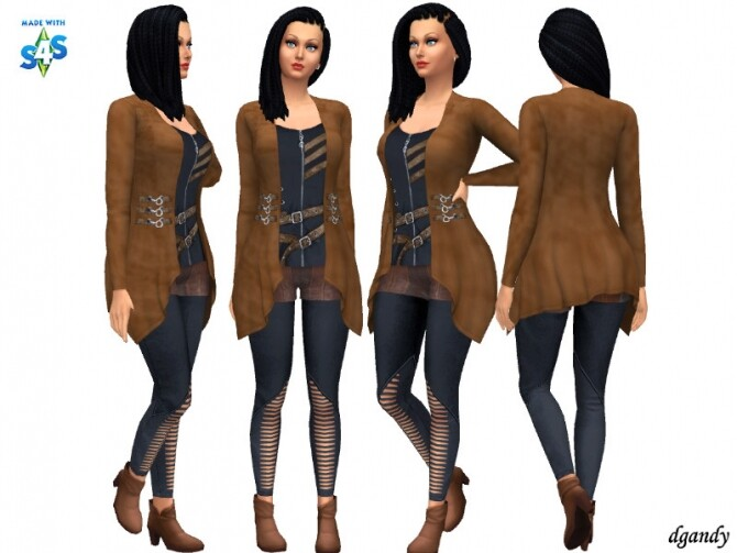 Sims 4 Apocalypse Outfit 20200502 by dgandy at TSR