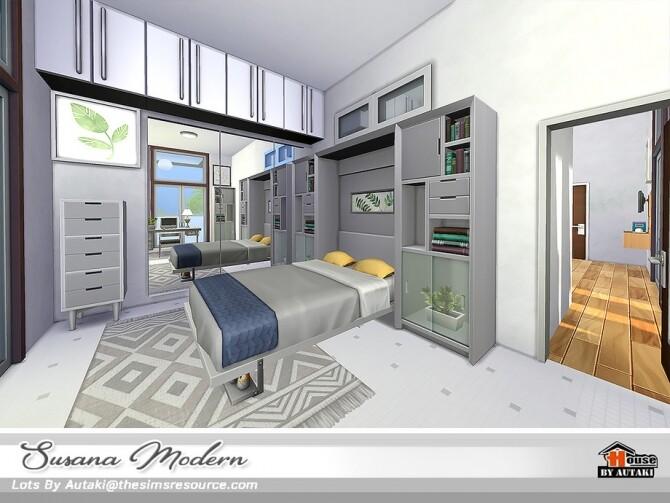 Susana Modern House NoCC by autaki at TSR image 6219 670x503 Sims 4 Updates