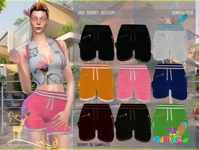 Sims 4 DSF SET AUTCHY by DanSimsFantasy at TSR