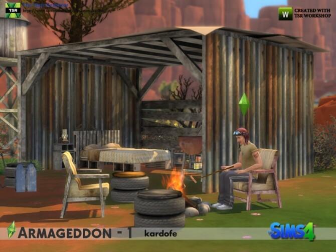 Armageddon 1 set by kardofe at TSR image 624 670x503 Sims 4 Updates