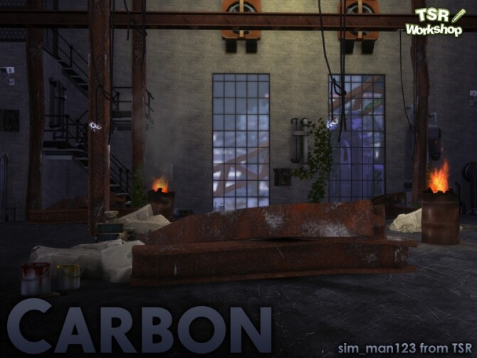 Sims 4 Carbon Industrial by sim man123 at TSR