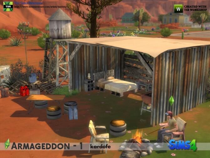 Armageddon 1 set by kardofe at TSR image 634 670x503 Sims 4 Updates