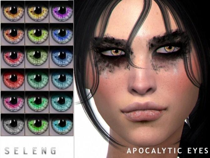 Sims 4 Apocalytic Eyes by Seleng at TSR