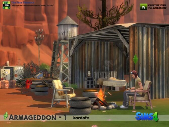 Armageddon 1 set by kardofe at TSR image 644 670x503 Sims 4 Updates