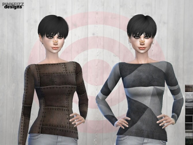Sims 4 Apocalyptic Doomwear Metalwear PF84 by Pinkfizzzzz at TSR