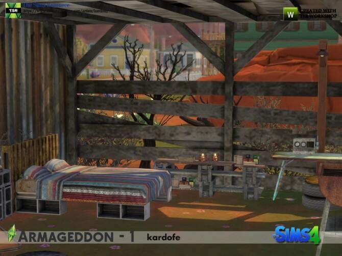 Armageddon 1 set by kardofe at TSR image 664 670x503 Sims 4 Updates