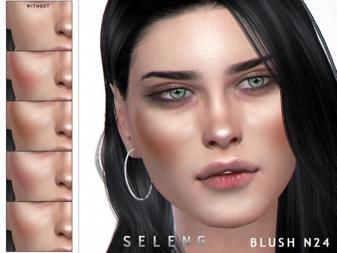Blush N24 by Seleng at TSR image 6816 670x503 Sims 4 Updates