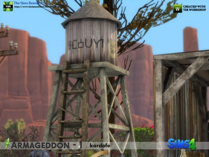 Armageddon 1 set by kardofe at TSR image 684 670x503 Sims 4 Updates