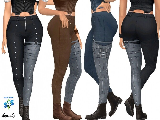Sims 4 Apocalypse Pants 20200507 by dgandy at TSR