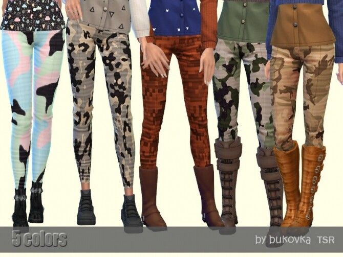 Sims 4 Pants Apocalypse by bukovka at TSR