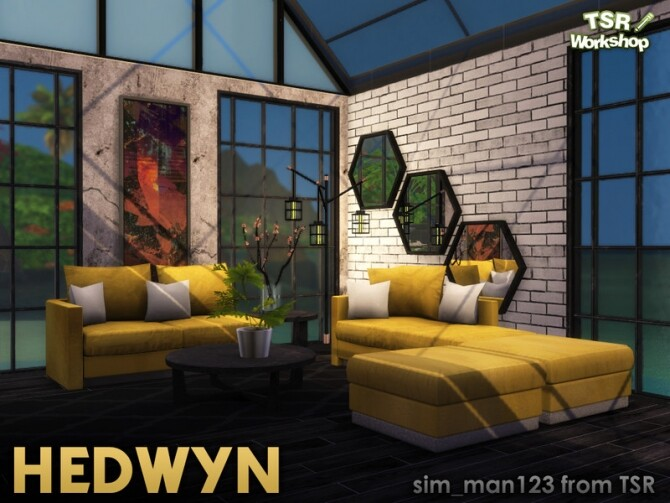 Hedwyn Living Room by sim man123 at TSR image 6914 670x503 Sims 4 Updates