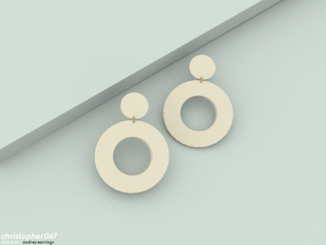 Audrey Earrings by Christopher067 at TSR image 6917 670x503 Sims 4 Updates