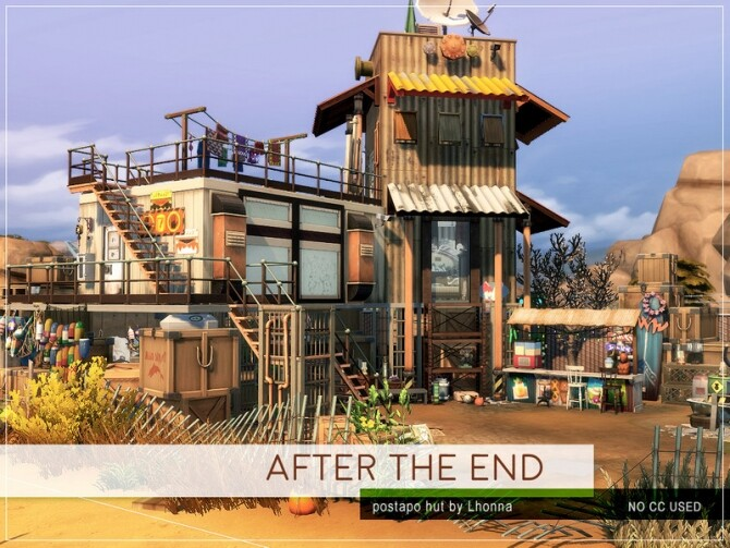 After The End home by Lhonna at TSR image 7010 670x503 Sims 4 Updates