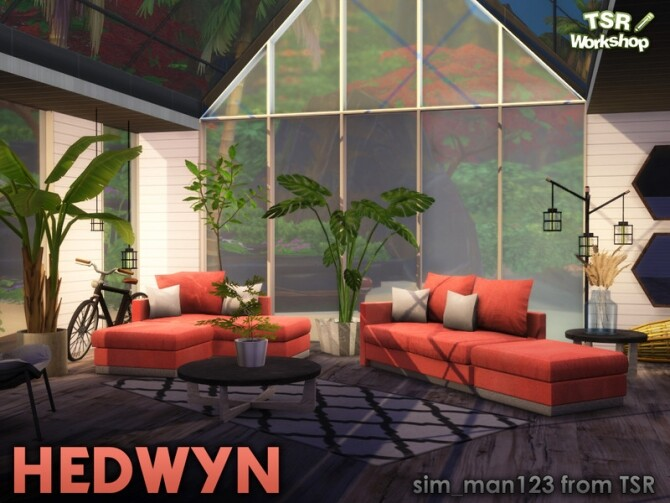 Sims 4 Hedwyn Living Room by sim man123 at TSR