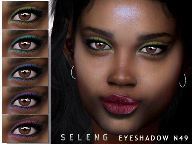 Sims 4 Eyeshadow N49 by Seleng at TSR
