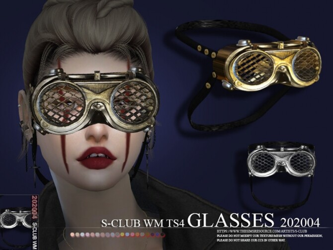 Glasses 202004 by S Club WM at TSR image 707 670x503 Sims 4 Updates