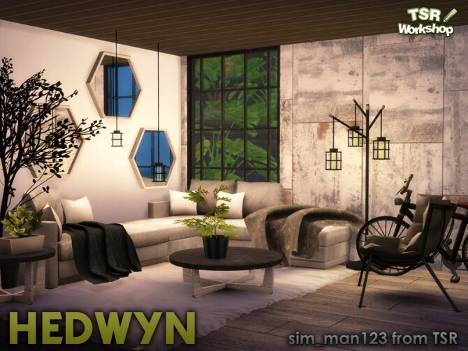 Hedwyn Living Room by sim man123 at TSR image 7116 670x503 Sims 4 Updates