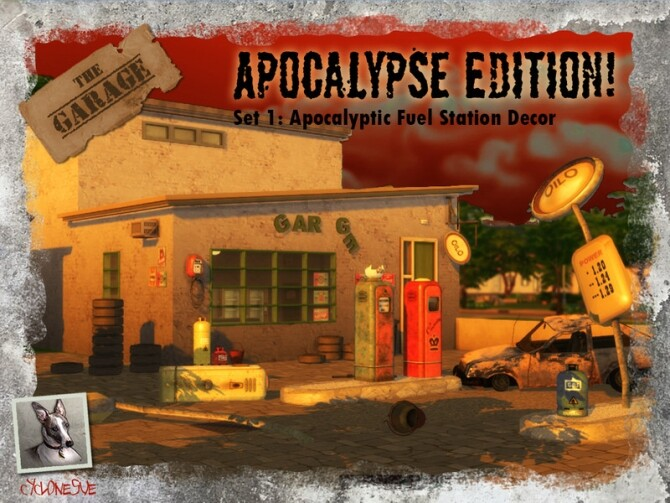 The Garage Special Apocalyptic Edition by Cyclonesue at TSR image 713 670x503 Sims 4 Updates