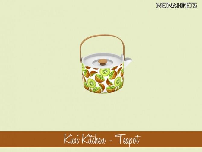 Kiwi Kitchen Decor by neinahpets at TSR image 714 670x503 Sims 4 Updates