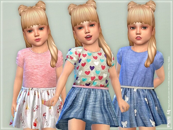 Toddler Dresses Collection P140 by lillka at TSR image 7218 670x503 Sims 4 Updates